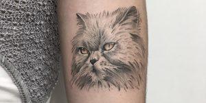 tatuajes puntillismo